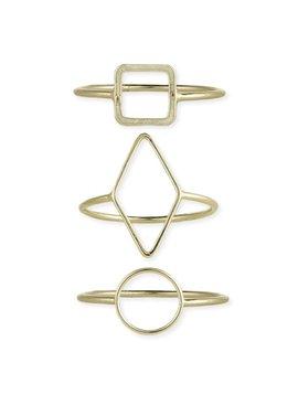 Gypsy Chic Gold Circle Ring