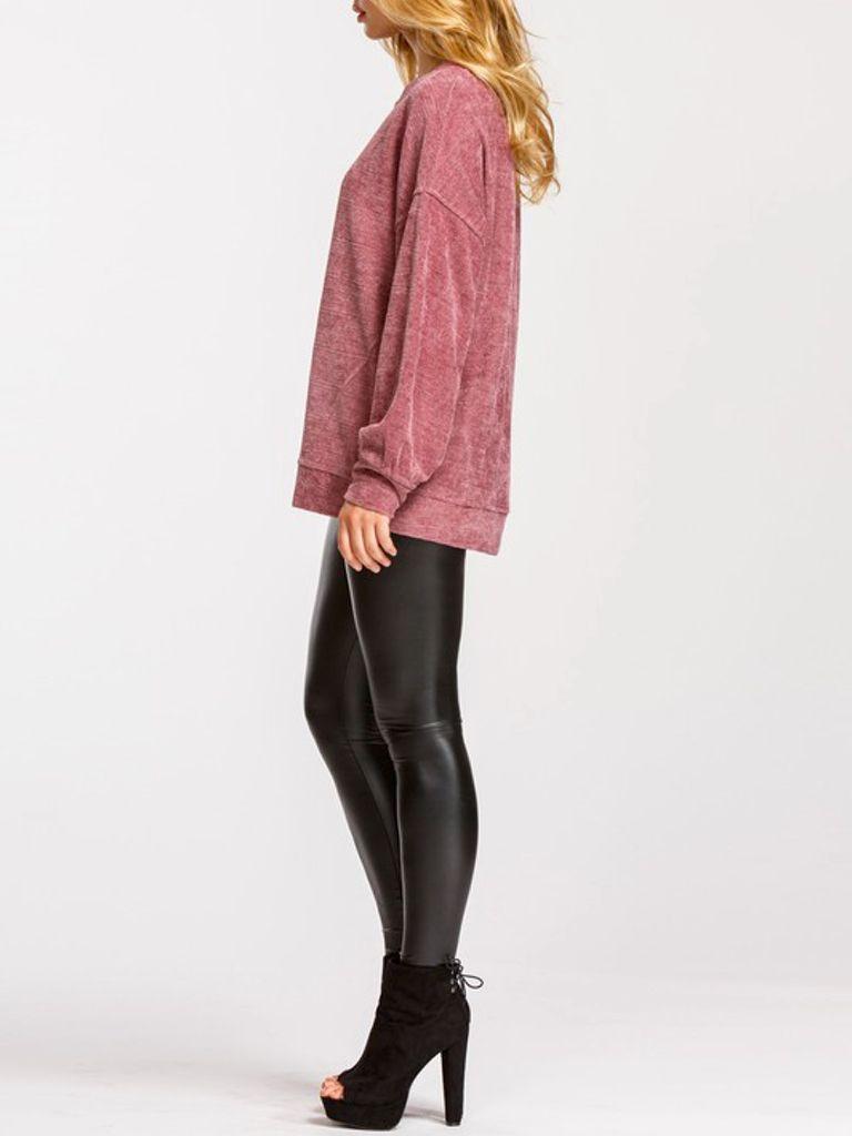 GCBLove Chenille Gather Sweater