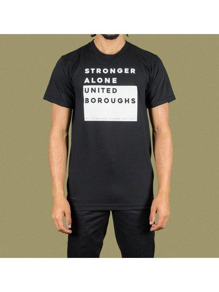 United Boroughs TEE UBNY Stronger Alone black