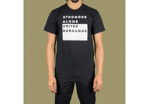 United Boroughs TEE UBNY Stronger Alone black