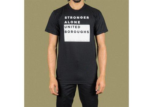 United Boroughs TEE UBNY Stronger_Alone black
