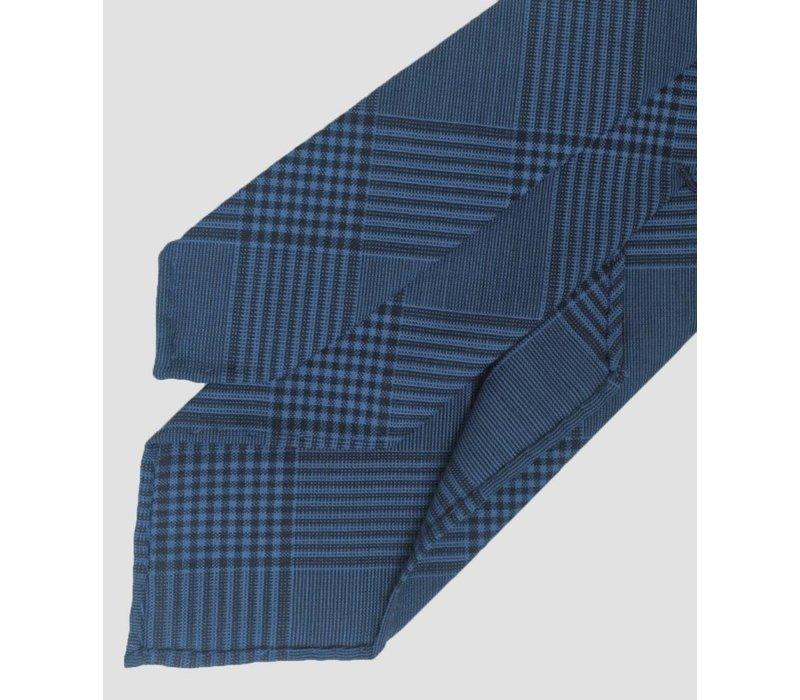 TIE blue/blue plaid