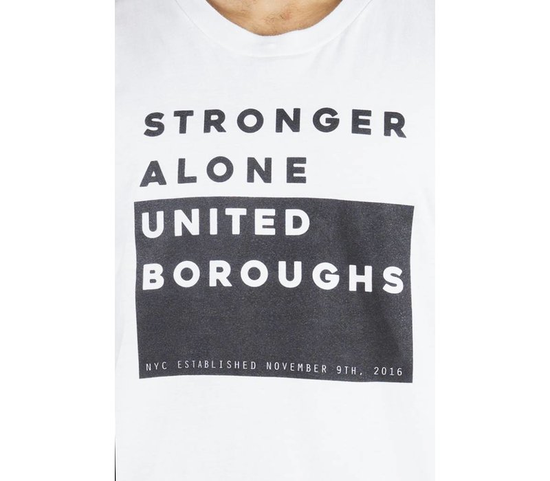 TEE UBNY Stronger_Alone white