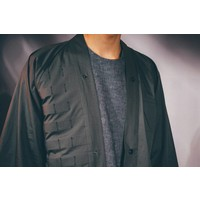 Kimono Overshirt Olive Cotton