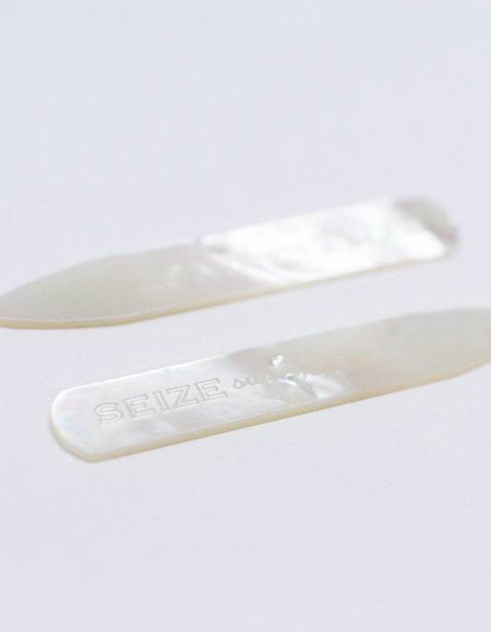 Seize sur Vingt ACC Collar Stays MOP (pair)