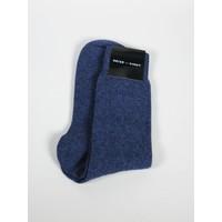 ACC Slate Blue Cashmere Sock