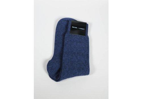 Seize sur Vingt ACC Slate Blue Cashmere Sock