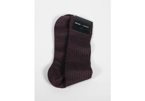 Seize sur Vingt ACC Brick Wool Blend Sock