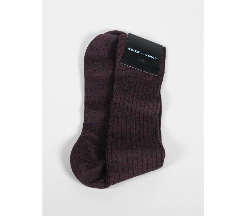 ACC Brick Wool Blend Sock