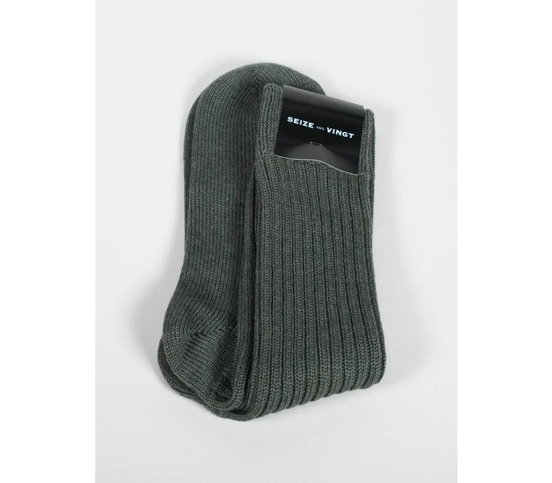 ACC Olive Wool Blend Sock