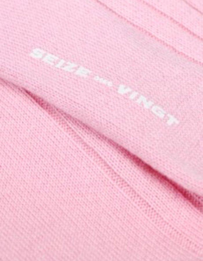 Seize sur Vingt ACC Pink Cashmere Sock