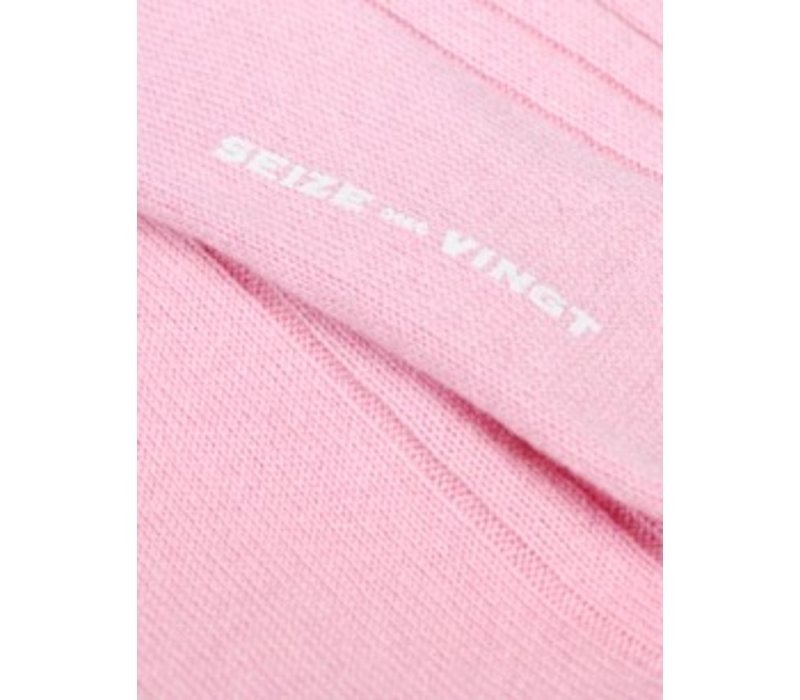 ACC Pink Cashmere Sock