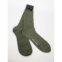 ACC Olive Cashmere Sock