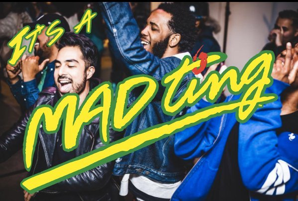 MAD Ting Launch Party Invite