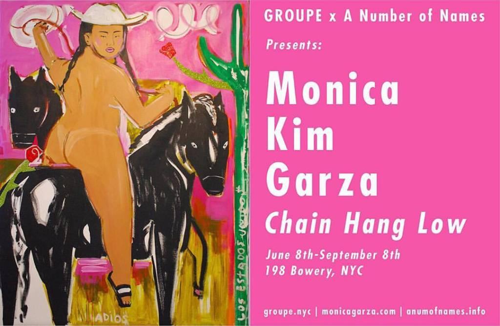 Monica Kim Garza - Opening Night Invite