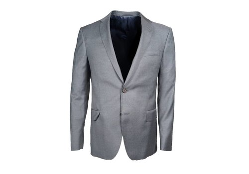 Seize sur Vingt Grey Textured Suit