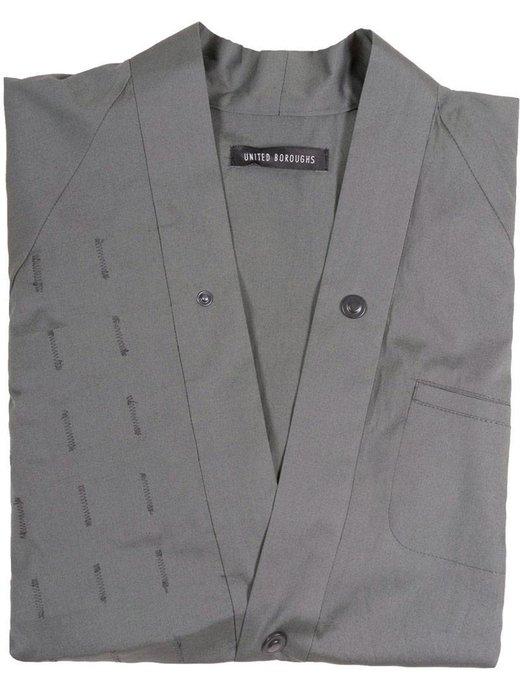 United Boroughs Kimono Overshirt Olive