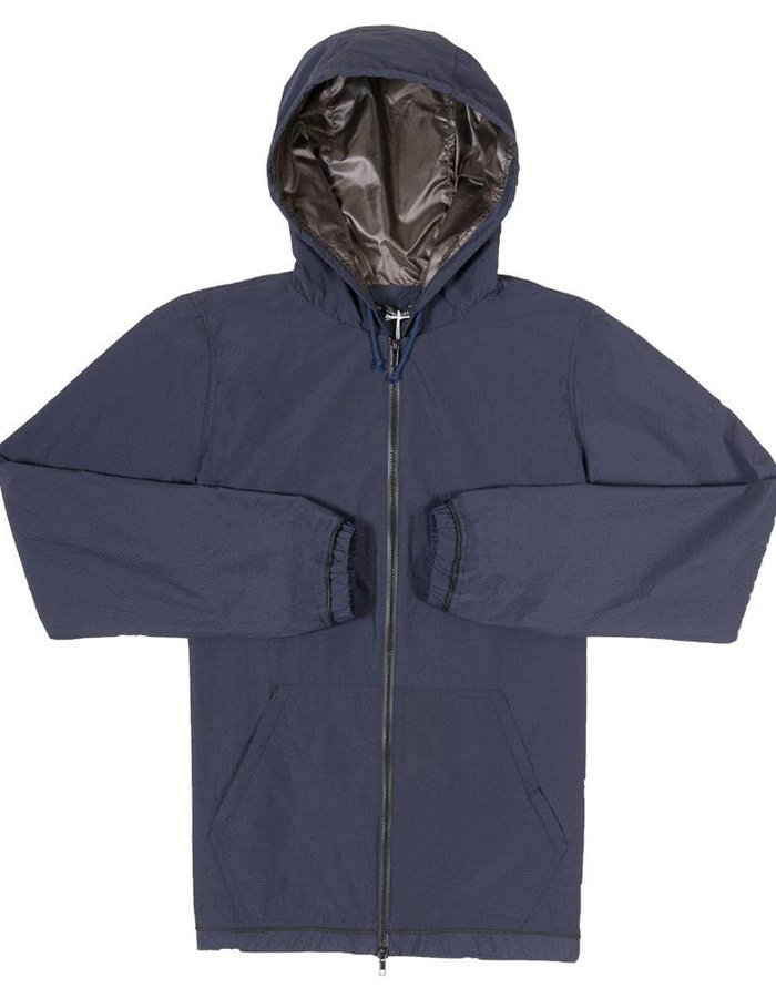 United Boroughs Tetsuo Jacket navy seersucker