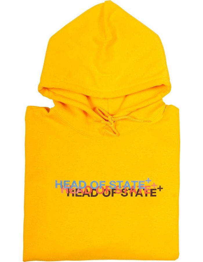 HEAD OF STATE+ Triple Logo Hoodie
