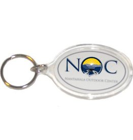 Logo Oval Key Chain