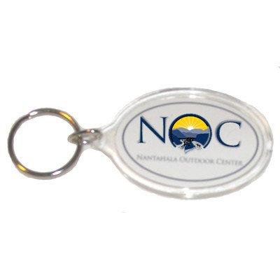Logo Oval Key Chain