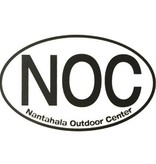 NOC Large Oval Sticker