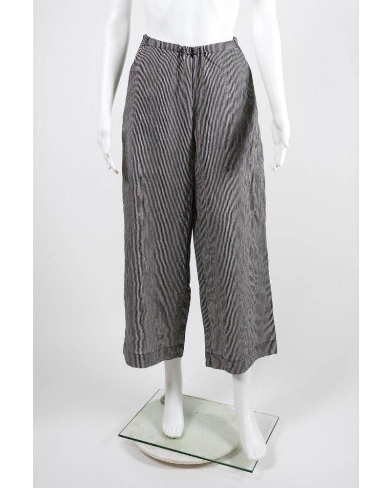 Alembika Striped Linen Pant