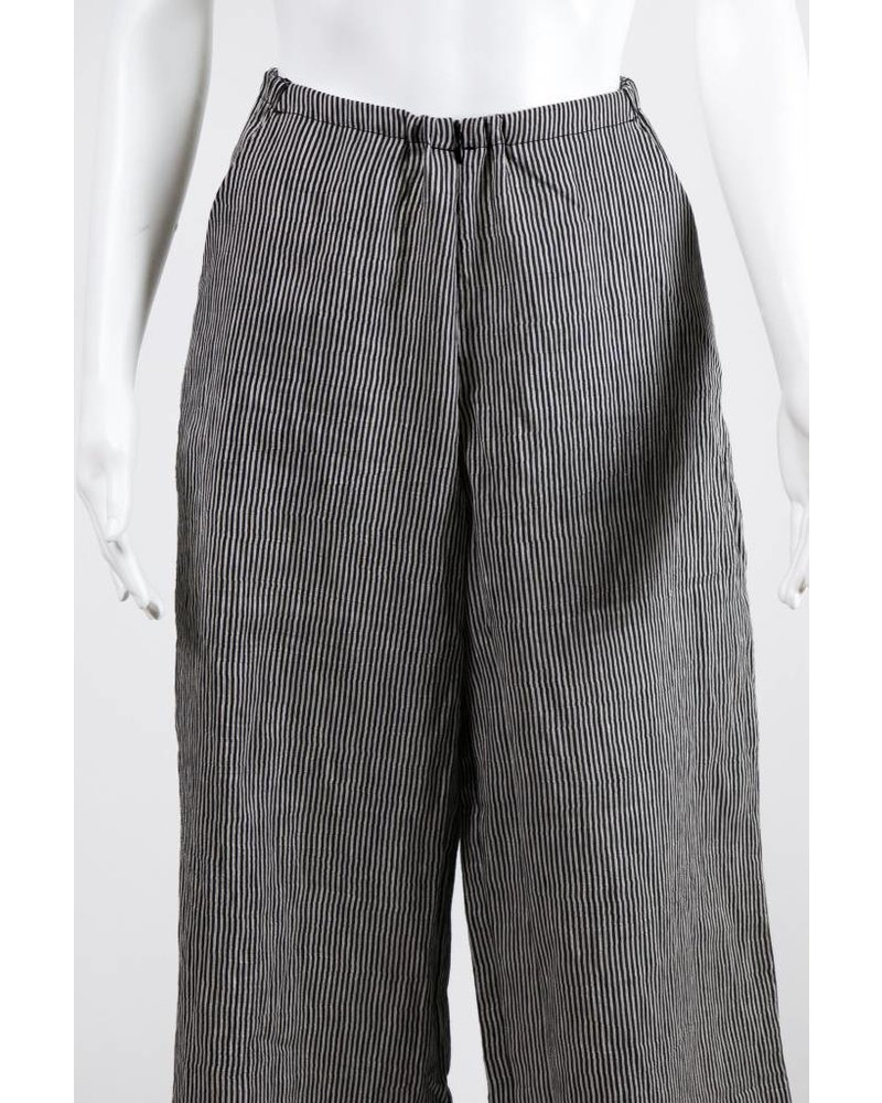 Alembika Striped Linen Pant