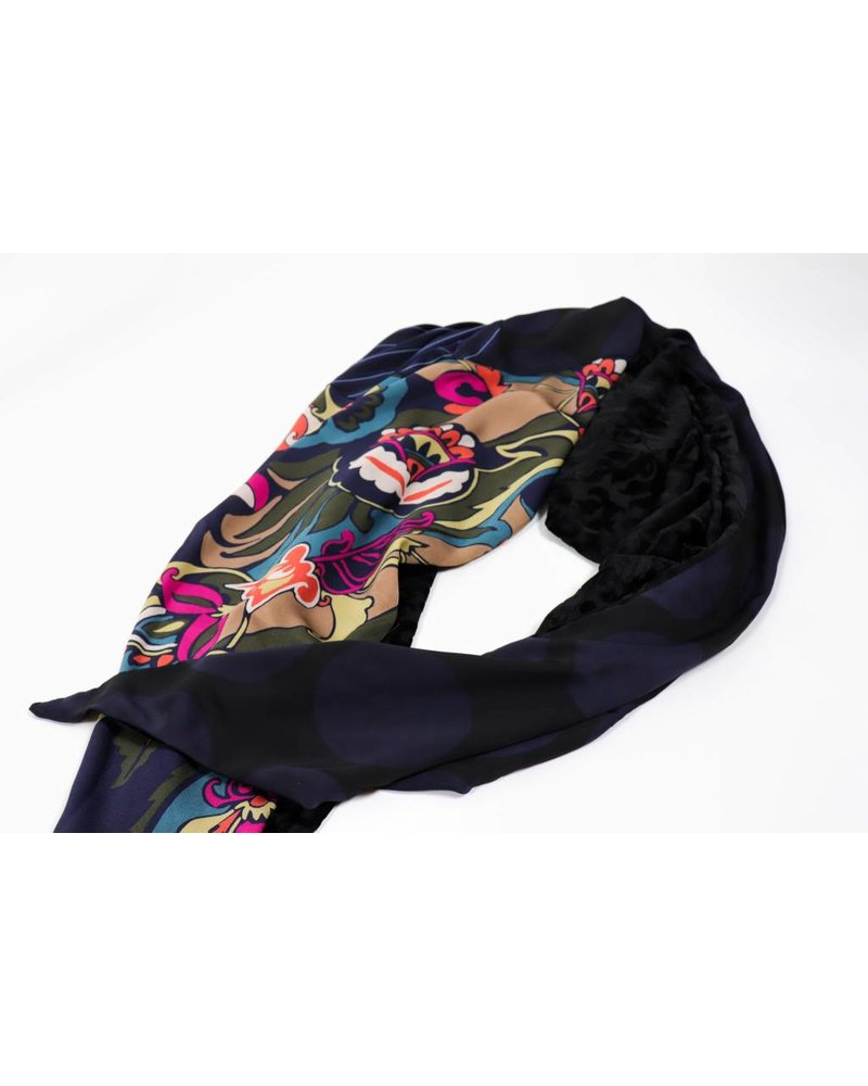 Alembika Mixed Media Scarf