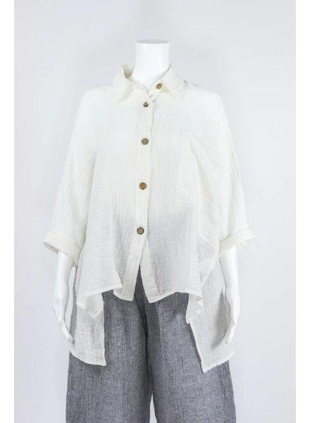 Luukaa Woven Button Blouse
