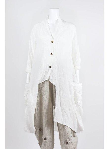 Luukaa Woven Long Jacket