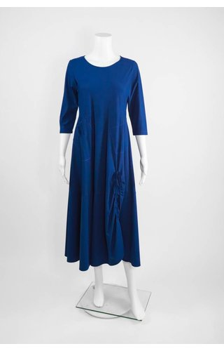 Comfy USA Jason Ruched Dress