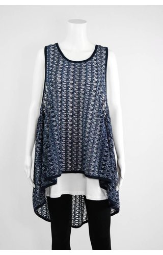 Comfy USA Multi-color Sleeveless Tunic