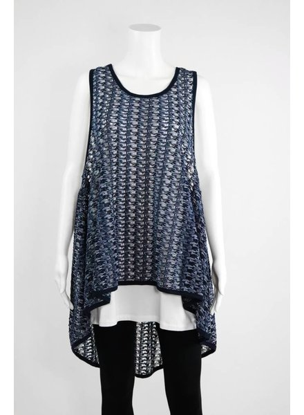 Comfy USA Multi-color Sleeveless Tunic