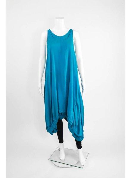 Grizas Silk Layered Long Dress