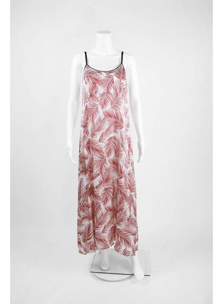 Lauren Vidal Long Fern Print Dress