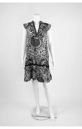 Lauren Vidal Ruffle Shirt Dress