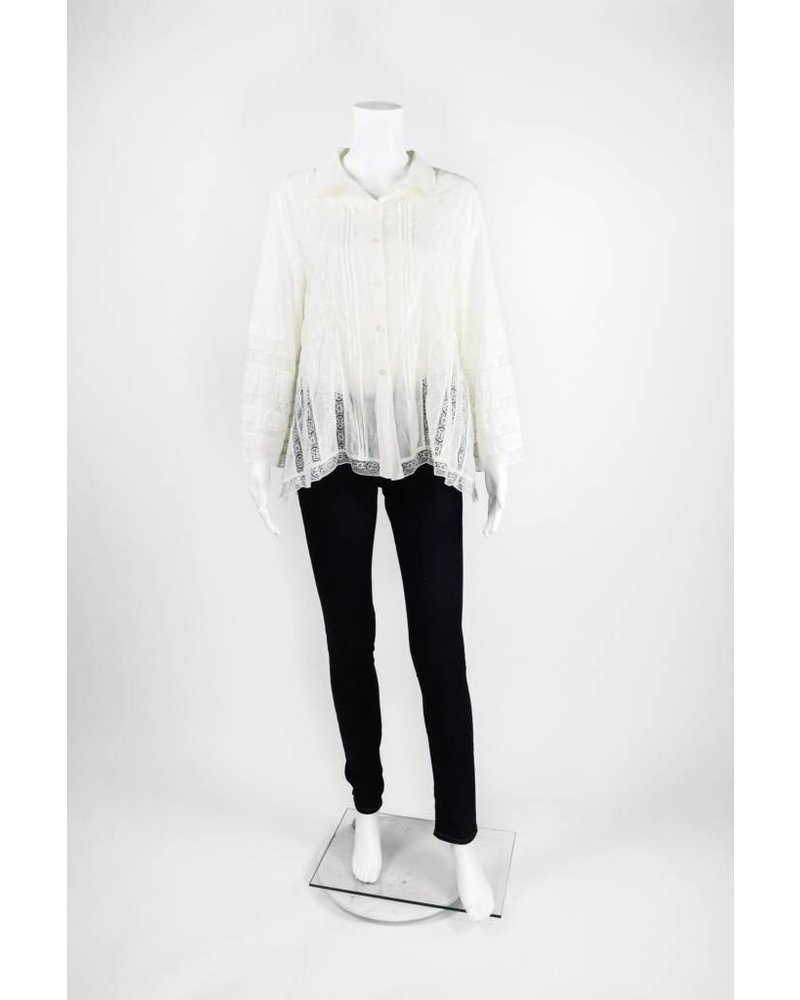 Lauren Vidal Cotton Blouse