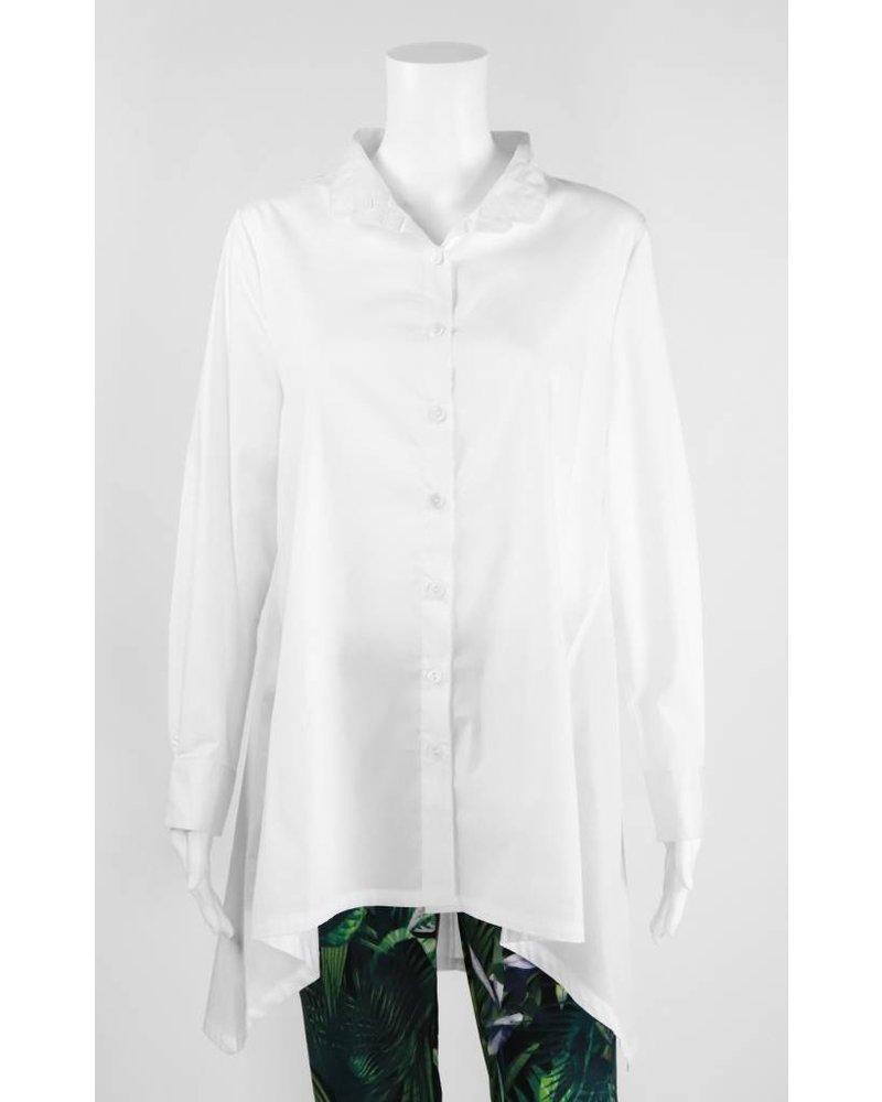 Inae Collection Mandarin Collar Shirt