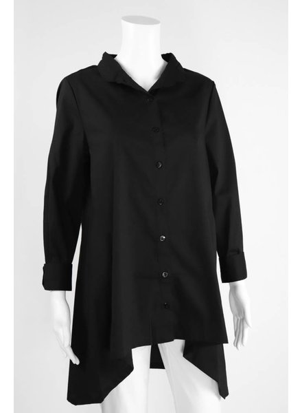 Inae Collection Mandarin Collar Shirt