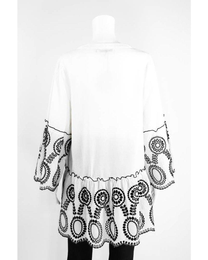 Lauren Vidal Embroidery Blouse