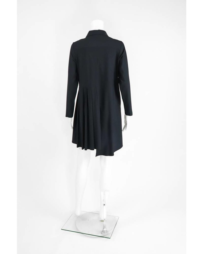 Comfy USA Jason Button Front Pleated Jacket
