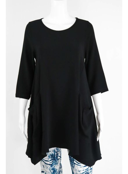 Comfy USA Jason 3/4 Sleeve 2 Pocket Tunic