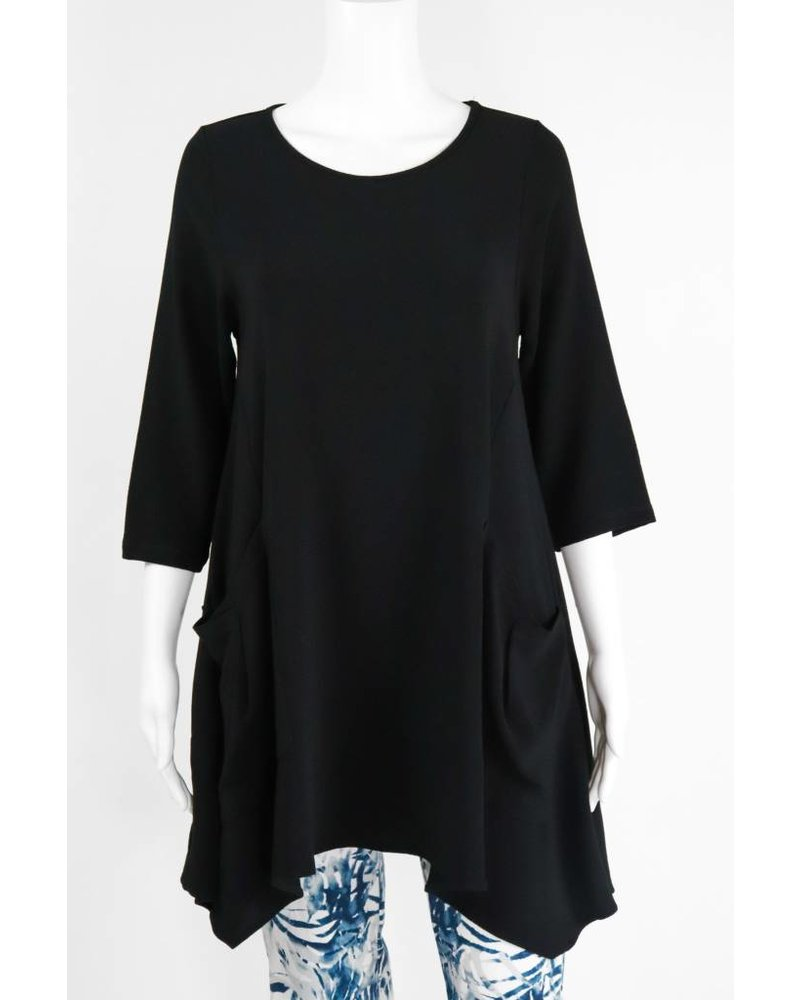 Comfy USA Jason 3/4 Sleeve 2 Pocket Tunic