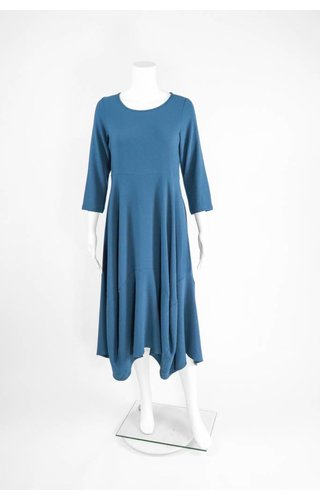Comfy USA Jason 3/4 Sleeve Round Neck Long Dress
