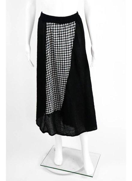 Luukaa Two Tone Checked Skirt