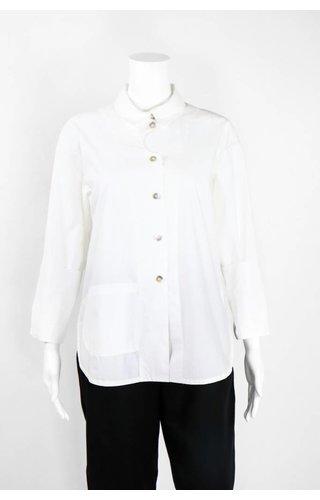 Bitte Kai Rand Front Pocket Cotton Shirt