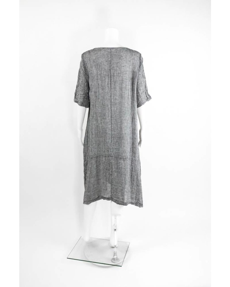 Luukaa Anthracite Dress
