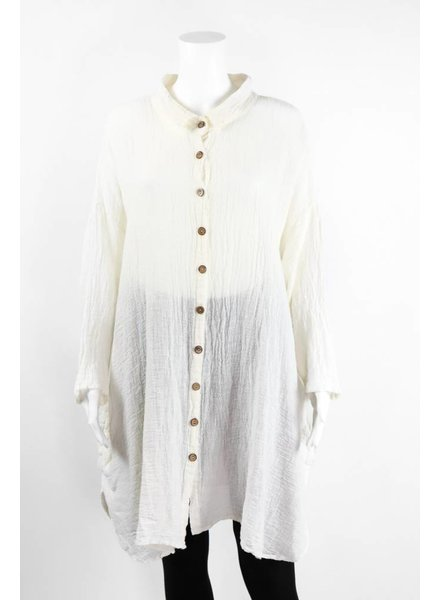 Luukaa Two Tone Cotton Shirt