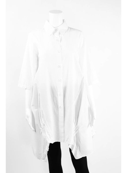Luukaa 3/4 Sleeve Shirt With Back Print Tunic